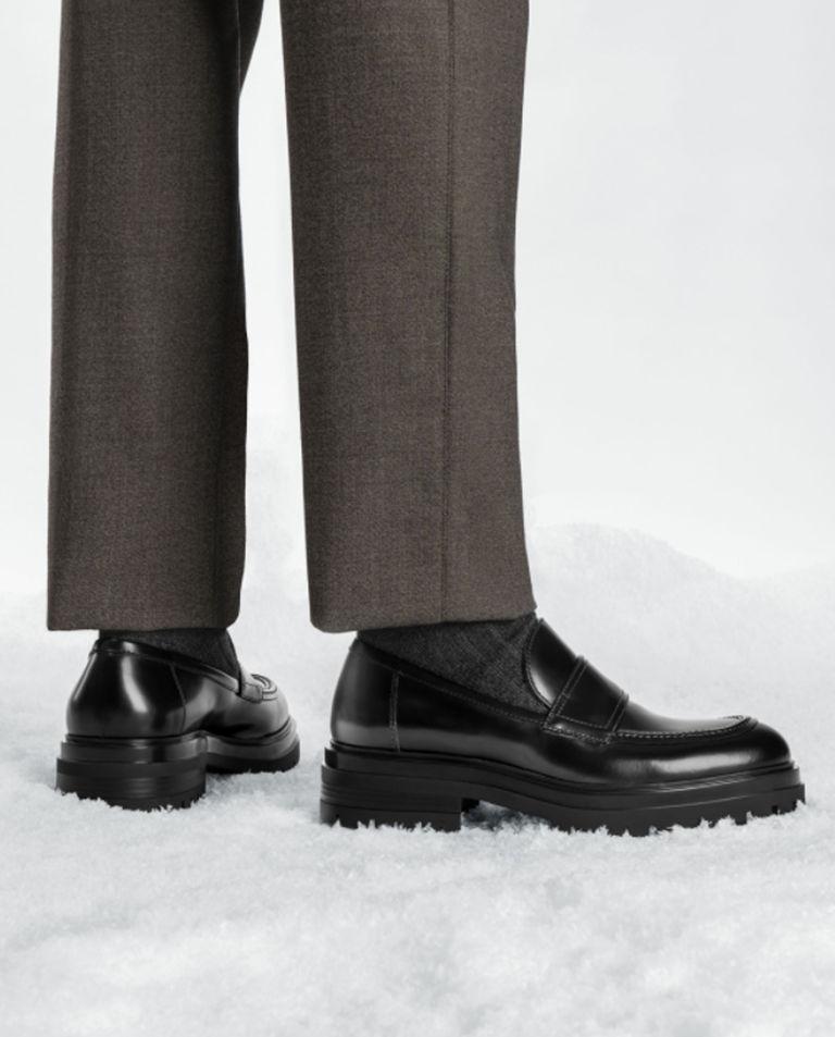Czarne loafery Paul Gianvito Rossi