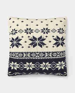 Wełniana poduszka Brynden Knit
