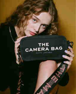 Czarna torebka The Camera