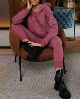 Różowe spodnie dresowe Menfi