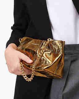 Złota torebka Ophelie