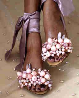 Różowe sandały Gloria