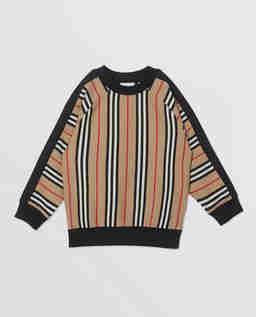 Bawełniana bluza w paski 3-10 lat