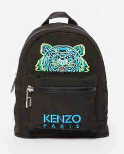 Czarny plecak mini Tiger Canvas