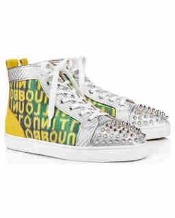 Sneakersy za kostkę Lou Spikes Orlato
