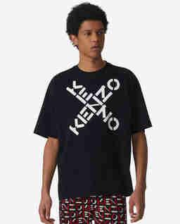 Czarna koszulka Sport