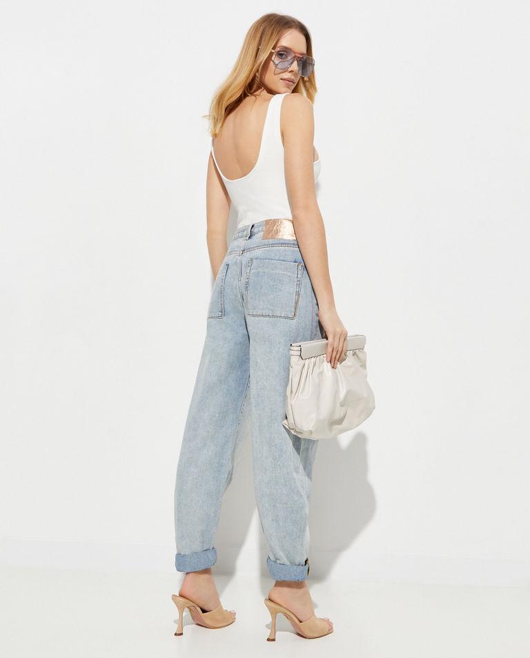 Niebieskie jeansy Smiths Low Waist Oneteaspoon