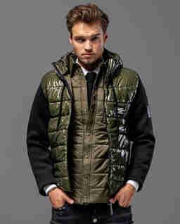 Pikowana kurtka z kapturem Defender KB