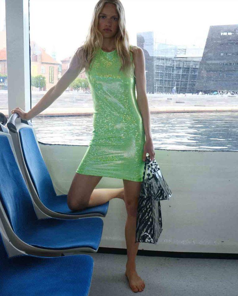Zielona sukienka Vision Saks Potts