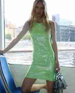 Zielona sukienka Vision