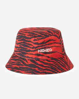 Czerwony kapelusz w zebrę