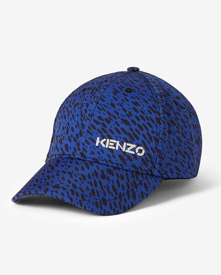 Niebieska czapka w cętki Kenzo