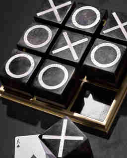 Gra kółko i krzyżyk Deco