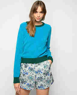 Niebieski sweter Giavellotto