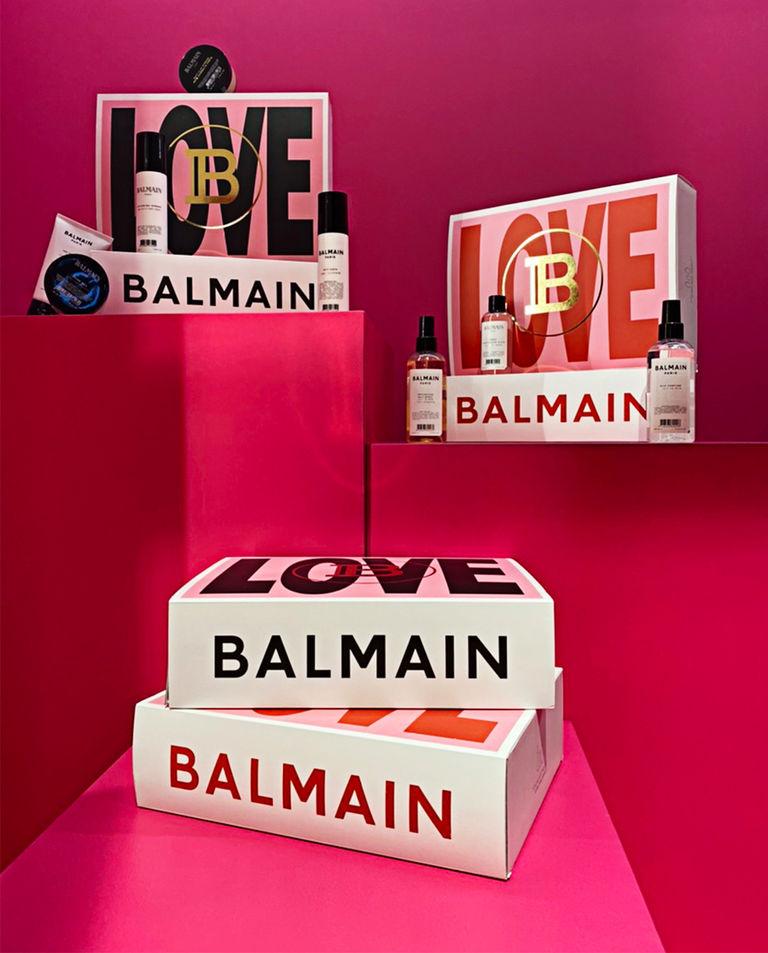 Zestaw prezentowy do stylizacji włosów EDYCJA WALENTYNKOWA  Balmain Paris Hair Couture