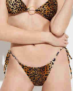 Dół od bikini w panterkę Miami