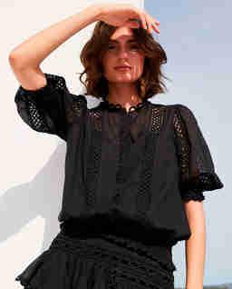 Czarna bluzka Estela