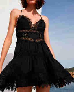 Czarna sukienka mini Rachel