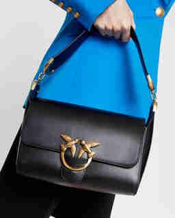 Czarna torebka Love Shoulder Bag Simply