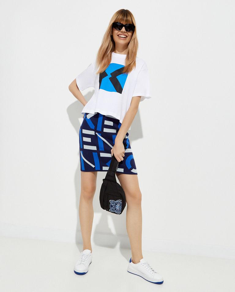 Spódnica mini z monogramem Kenzo