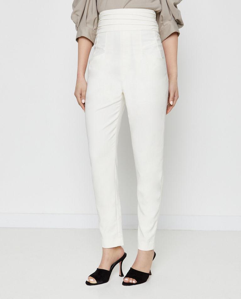 Białe spodnie Stoda Isabel Marant