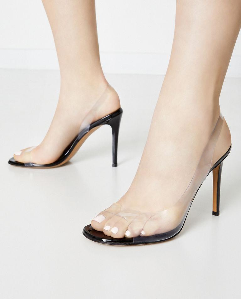 Transparentne sandały Amber Ghost Alexandre Vauthier