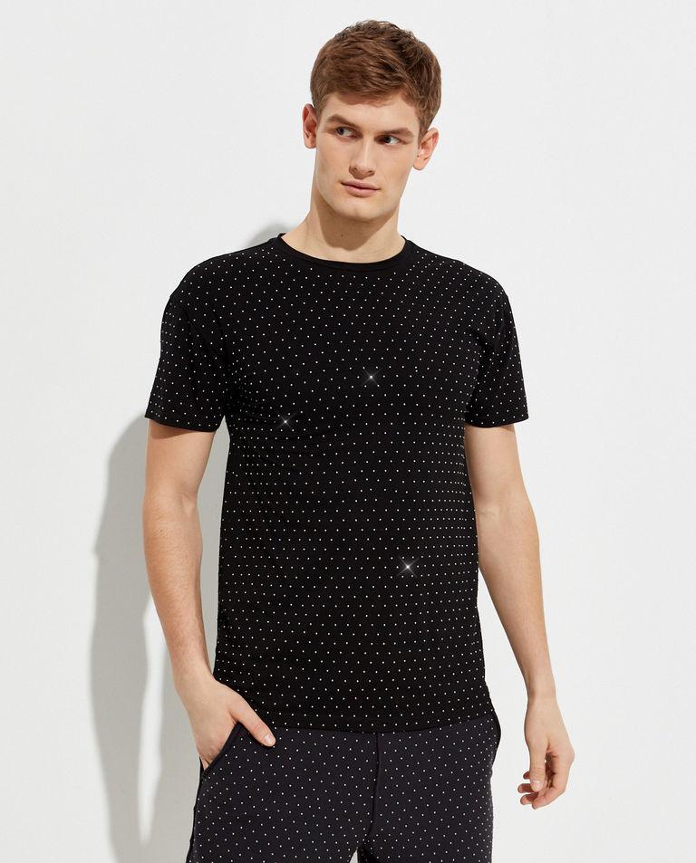 Czarny t-shirt Nico SER.O.YA