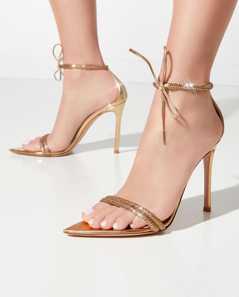 Sandały na szpilce Montecarlo Gianvito Rossi