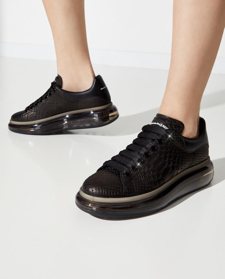 Czarne sneakersy Larry Alexander McQueen