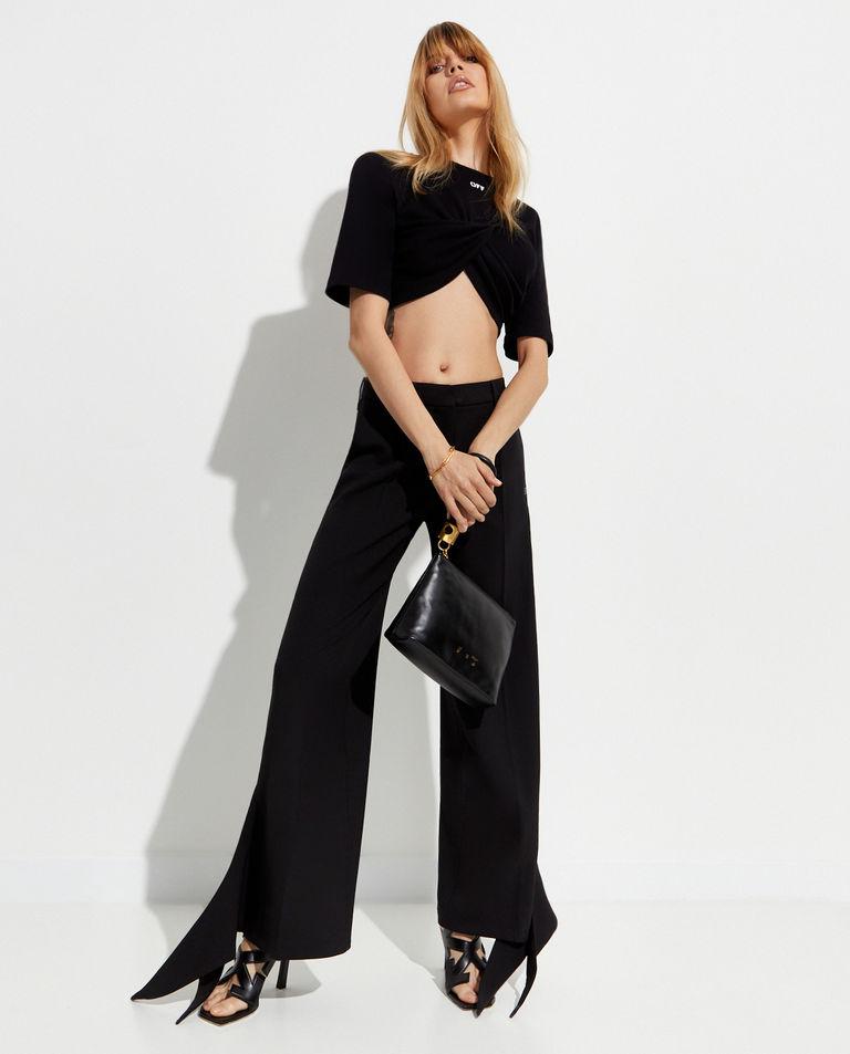 Spodnie z wiązaniem na nogawce Off-White