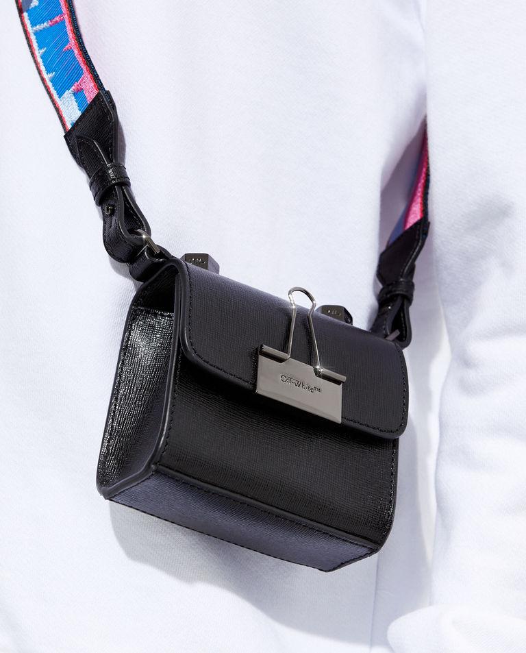 Czarna torebka z kolorowym paskiem Off-White