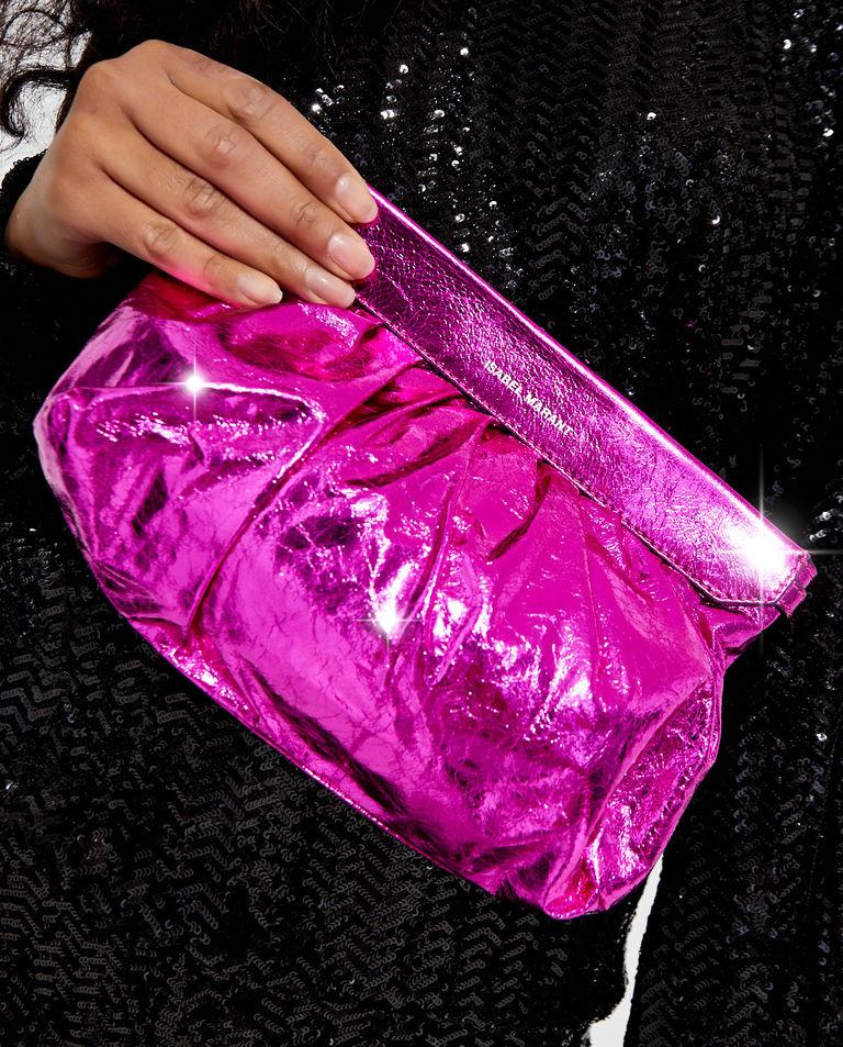 Różowa torebka Luzes Isabel Marant