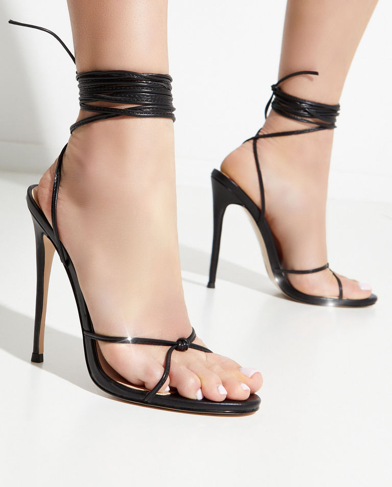 Czarne sandały Athens FEMME Los Angeles