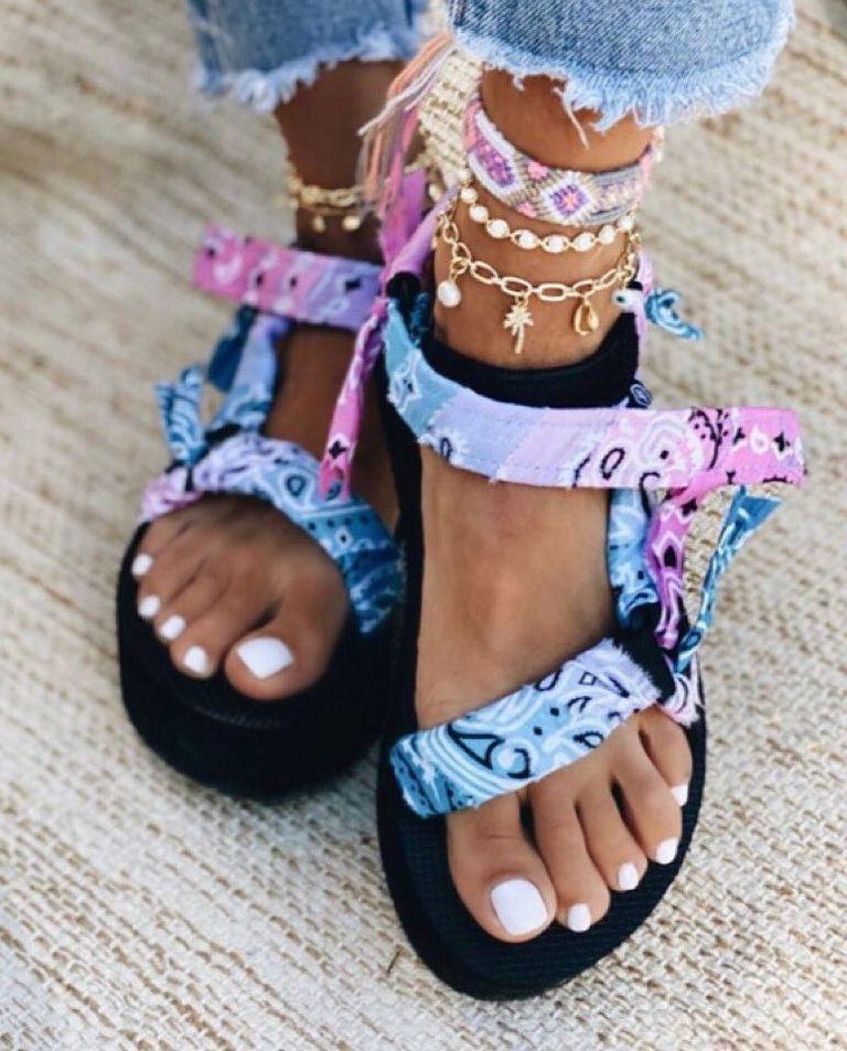 Sandały na platformie Tye Dye Arizona Love