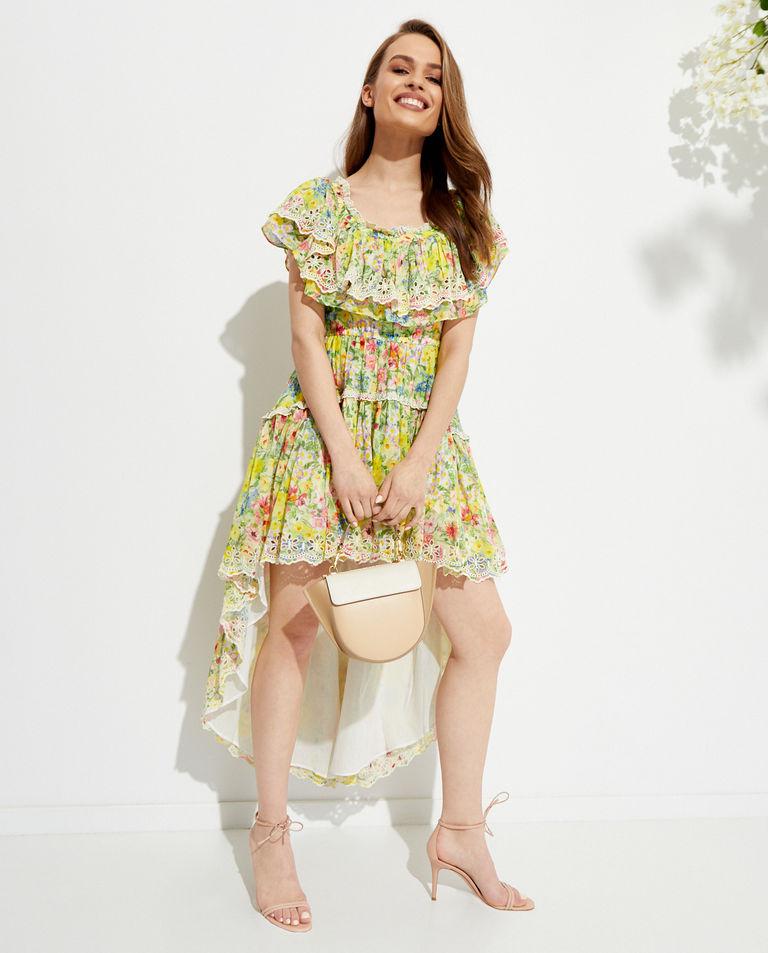 Sukienka w kwiatowy wzór Weller LoveShackFancy