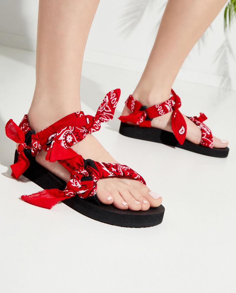 Czerwone sandały Trekky Chou Arizona Love