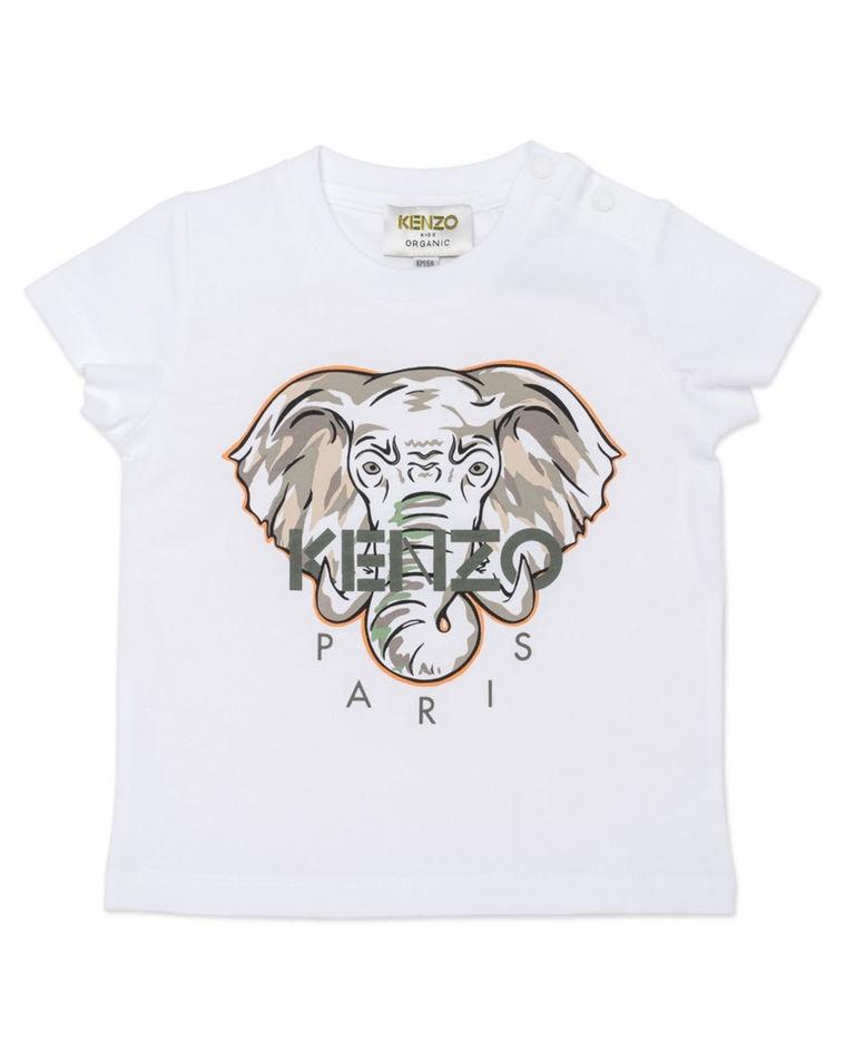 Koszulka z grafiką słonia 0-4 lat Kenzo Kids