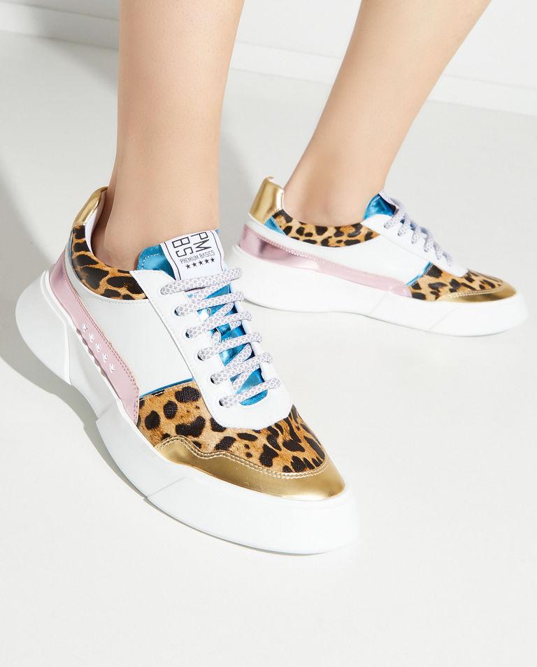 Sneakersy w cętki Premium Basics