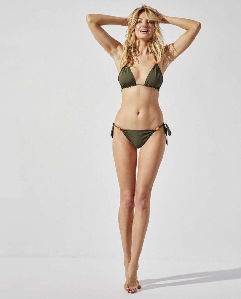 Zielone bikini Survivor Praia Beachwear