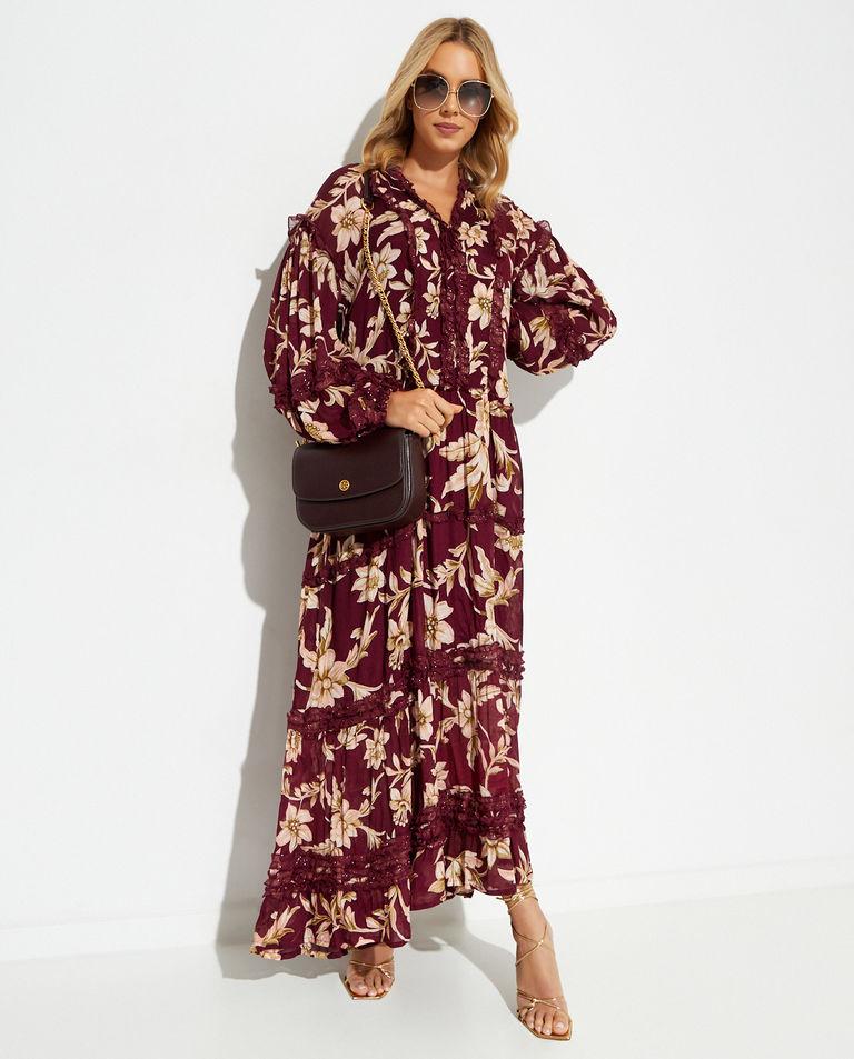 Kwiecista sukienka Ever