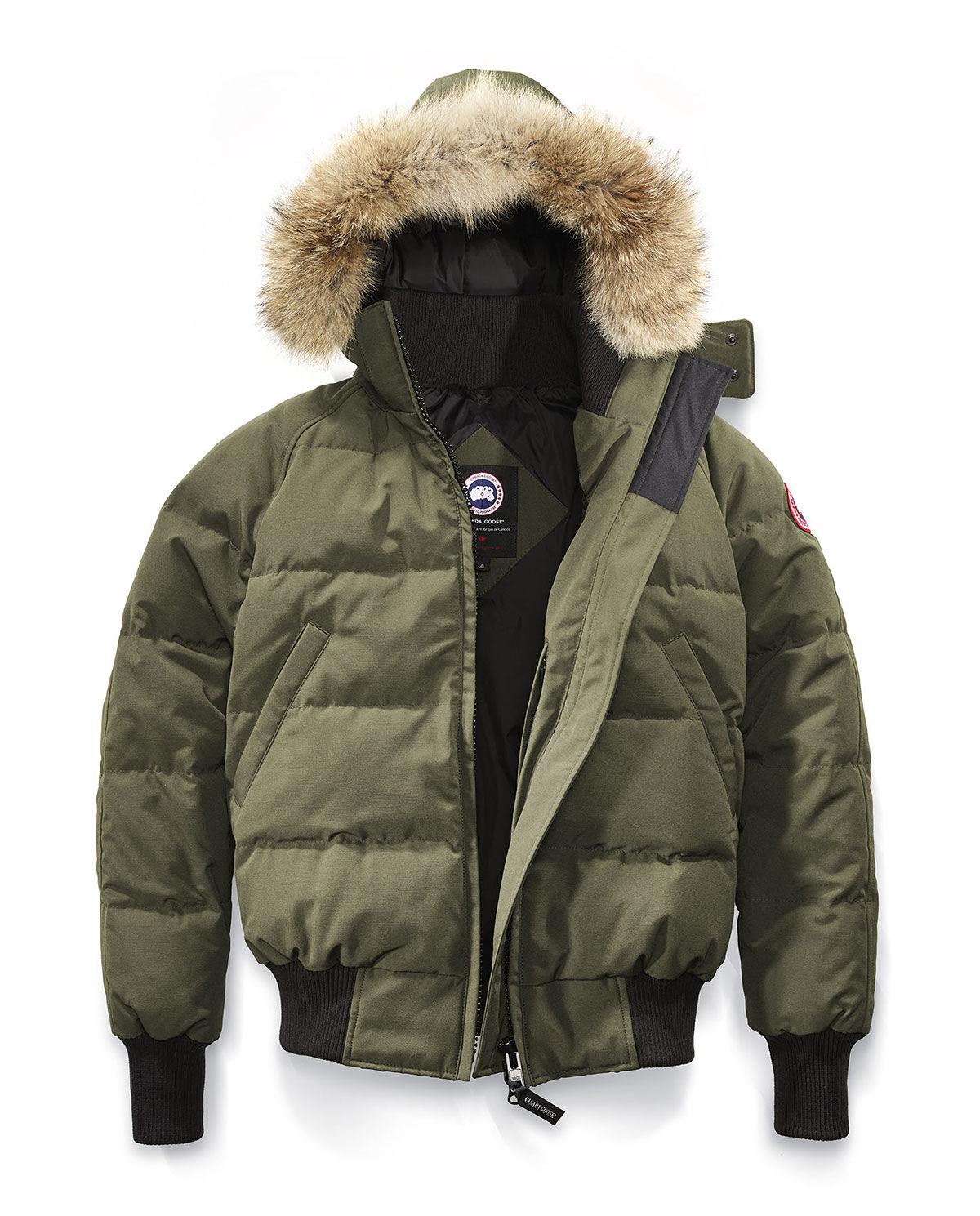 canada goose płaszcz zielone