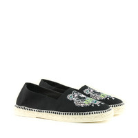 Espadryle Slit Canvas Tiger
