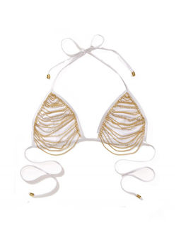 Trójkątny top od bikini Chain Reaction