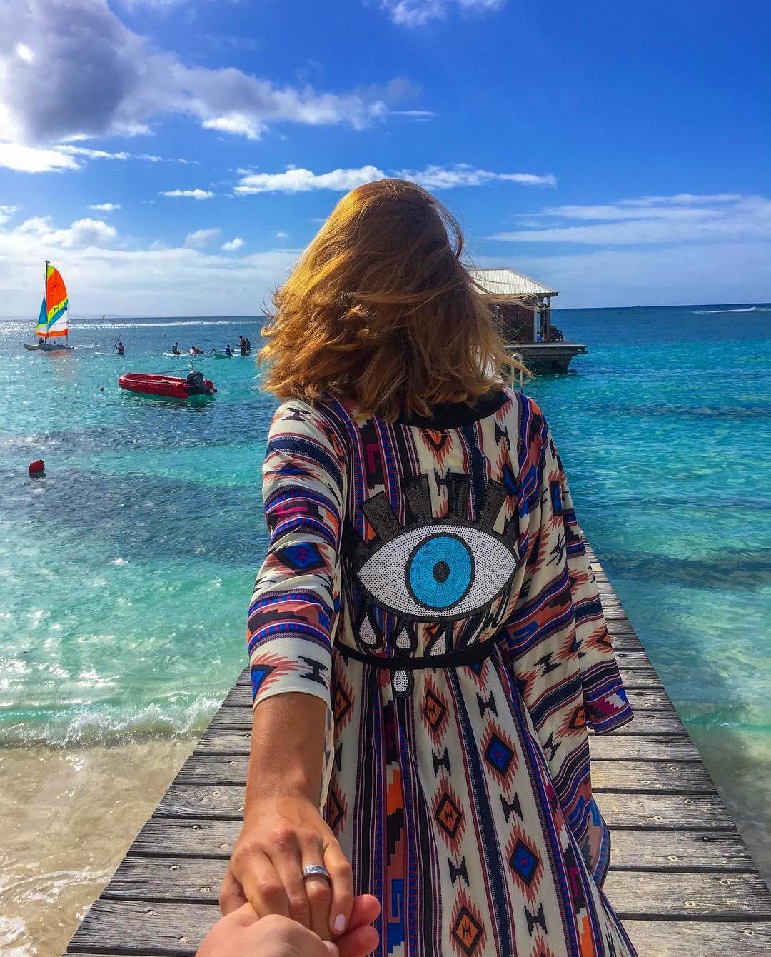 Tunika Evil Eye Mystique Beach