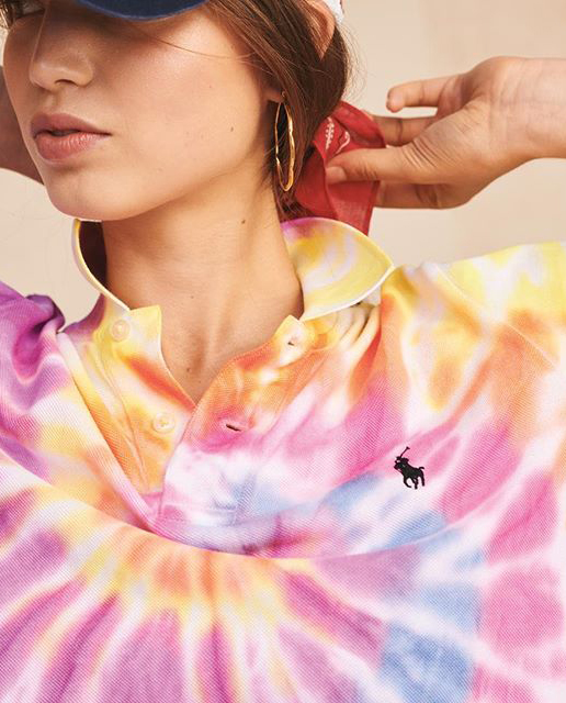 Koszulka tie-dye Polo Ralph Lauren