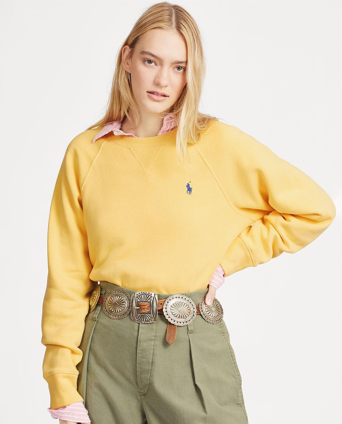 Żółta bluza z konikiem Polo Ralph Lauren