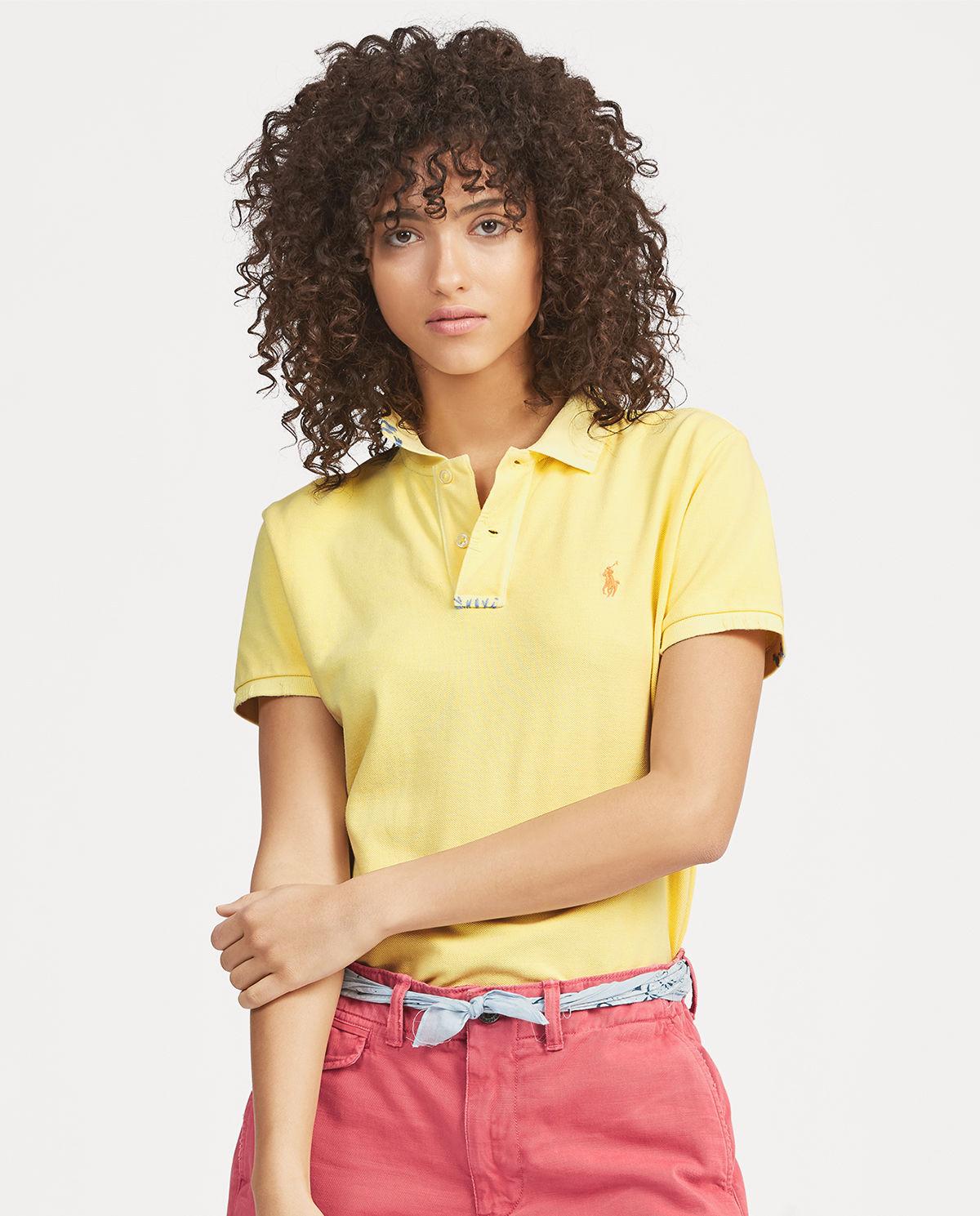 Zółte polo z konikiem Polo Ralph Lauren