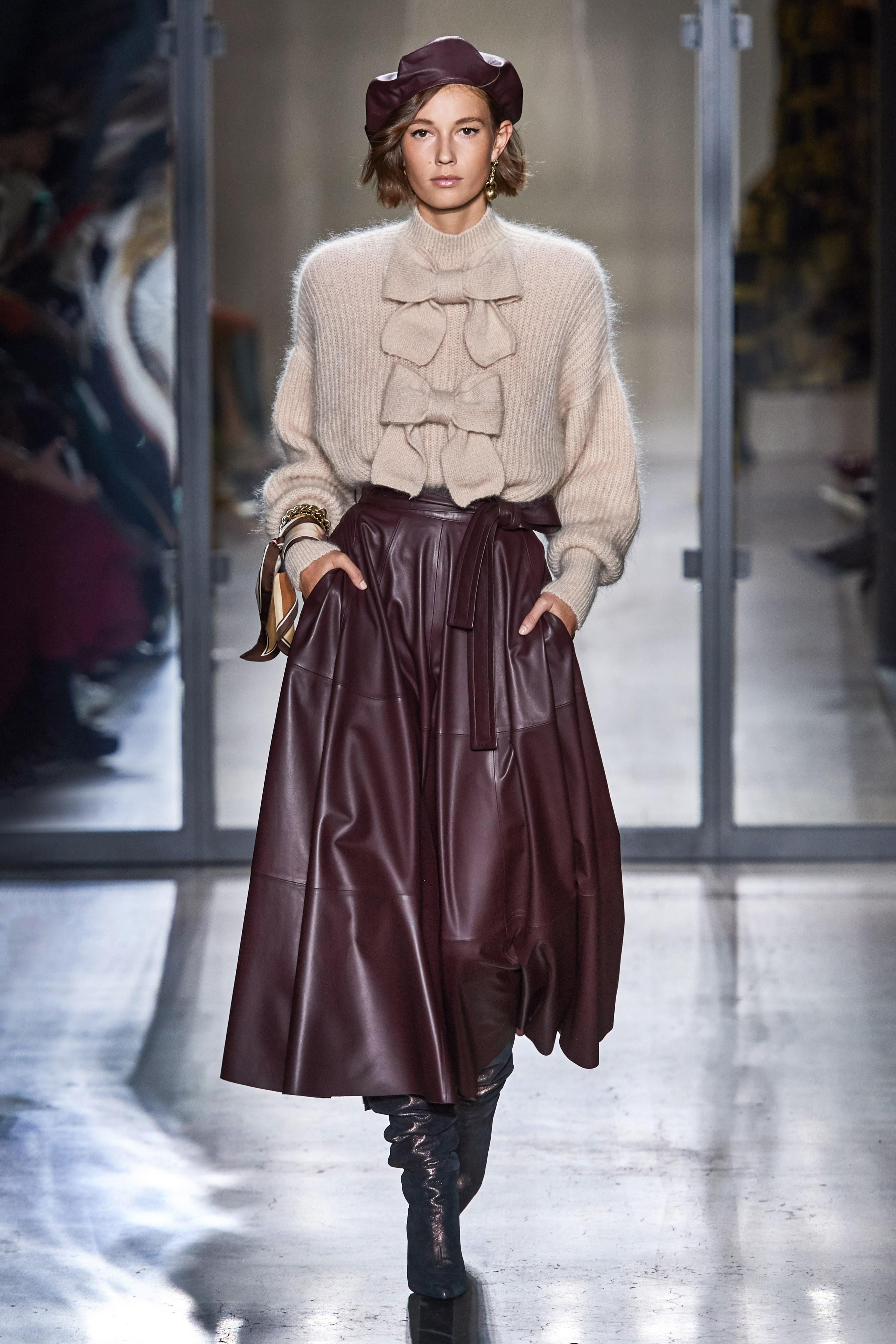 Modelka wybieg Isabel Marant