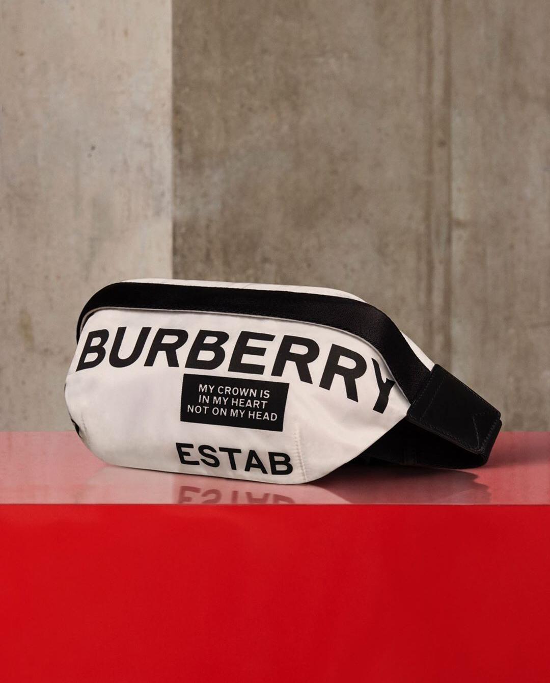 torebka na pas burberry