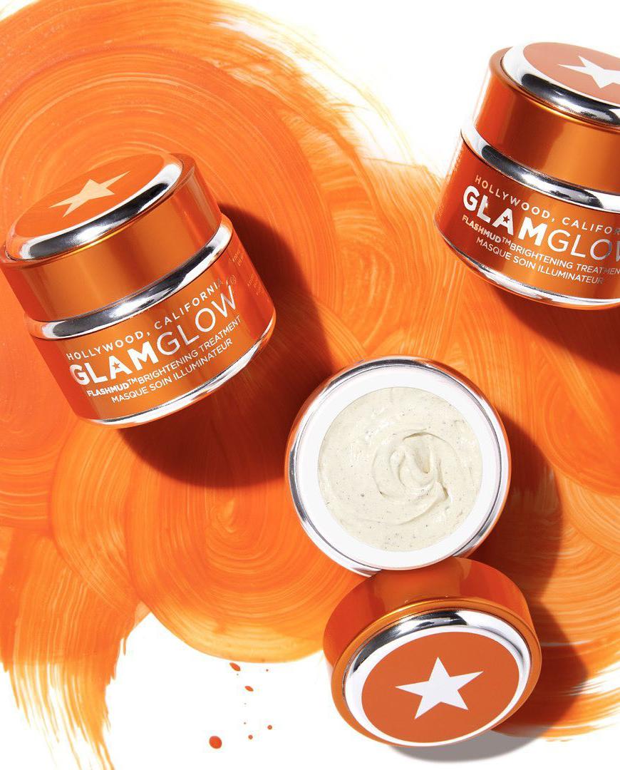 pomarańczowa maska glamglow